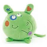 """Мягкая игрушка Button Blue """"Мышонок"""" зелёный, 10 см"""