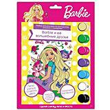 Роспись по номерам MultiArt Barbie