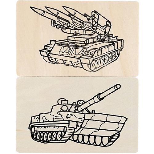 """Набор для выжигания MultiArt """"Военная техника. Танки"""" от Multiart"""