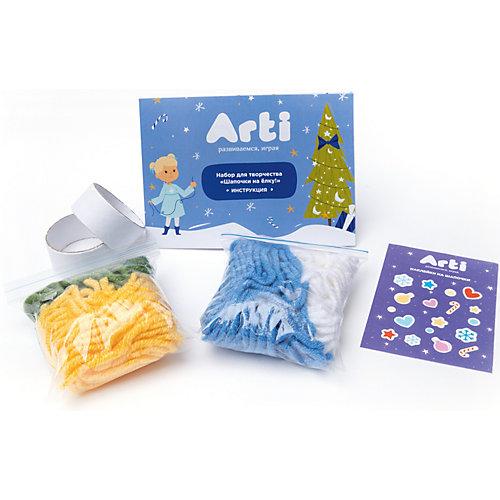 """Набор для творчества Arti """"Шапочки на елку!"""" Зимняя сказка от Arti"""