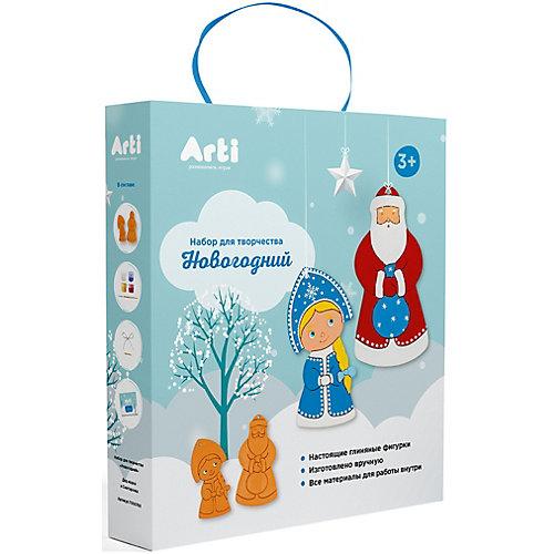 """Набор для творчества Arti """"Дед Мороз и Снегурочка"""" Новогодние украшения от Arti"""