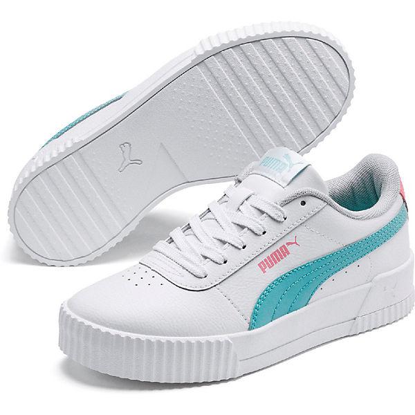 Genießen Sie kostenlosen Versand neue Stile Farben und auffällig Sneakers Carina L Jr für Kinder, PUMA | myToys