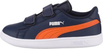 Puma Kinderschuhe halbschuhe blau Orange in 24 in Bayern