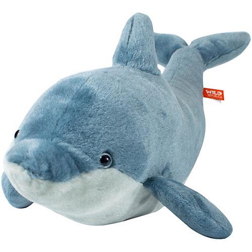 Мягкая игрушка Wild republic CuddleKins Дельфин, 49 см от Wild Republic