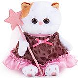 Мягкая игрушка  Budi Basa Кошечка Ли-Ли Baby в коричневом платье с отделкой, 20 см