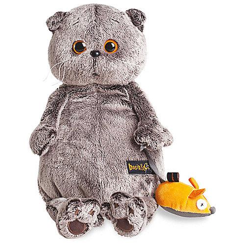 Мягкая игрушка  Budi Basa Кот Басик и мышка, 25 см от Budi Basa