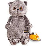 Мягкая игрушка  Budi Basa Кот Басик и мышка, 25 см