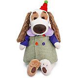 Мягкая игрушка  Budi Basa Собака Бартоломей в комбинированном пальто, 27 см