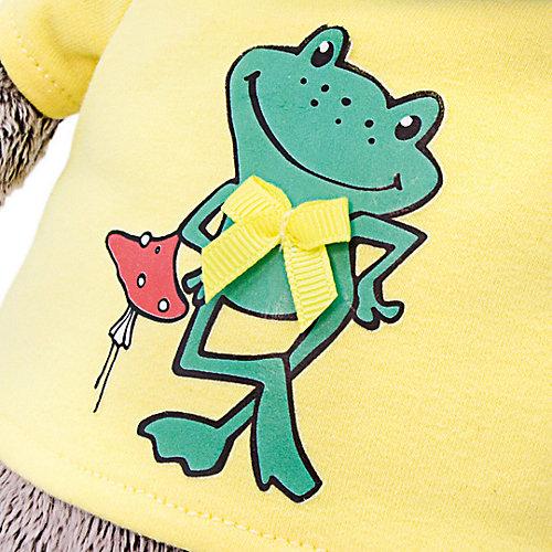"""Мягкая игрушка  Budi Basa Кот Басик в футболке с принтом """"Лягушонок"""", 22 см от Budi Basa"""