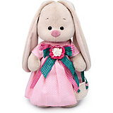 Мягкая игрушка  Budi Basa Зайка Ми Розовая дымка, 25 см