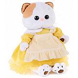Одежда для мягкой игрушки  Budi Basa Платье желтое с передником, 24 см
