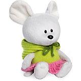 Мягкая игрушка  Budi Basa Мышка Пшоня в платье с капюшоном, 15 см