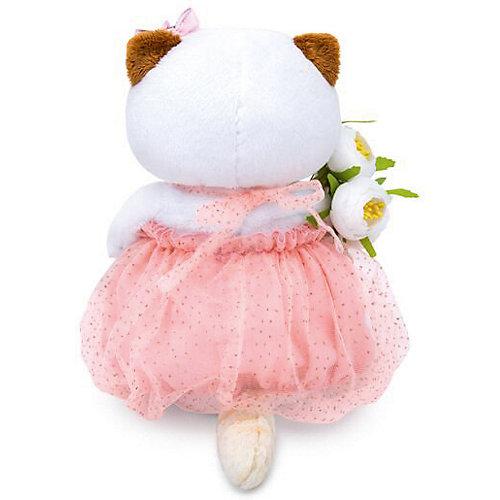 Мягкая игрушка  Budi Basa Кошечка Ли-Ли с белым букетом, 27 см от Budi Basa