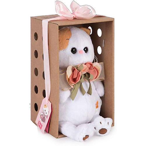 Мягкая игрушка  Budi Basa Кошечка Ли-Ли с букетом, 27 см от Budi Basa