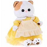 Одежда для мягкой игрушки  Budi Basa Платье желтое с передником, 27 см