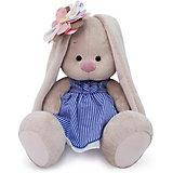 Мягкая игрушка  Budi Basa Зайка Ми с полосатым цветком, 23 см