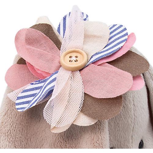Мягкая игрушка  Budi Basa Зайка Ми с полосатым цветком, 23 см от Budi Basa