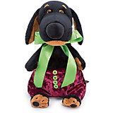 Мягкая игрушка  Budi Basa Собака Ваксон в бархатных штанишках, 29 см