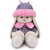 Мягкая игрушка  Budi Basa Зайка Ми в пальто и шапке, 18 см