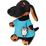 Мягкая игрушка  Budi Basa Собака Ваксон в футболке с совой, 29 см