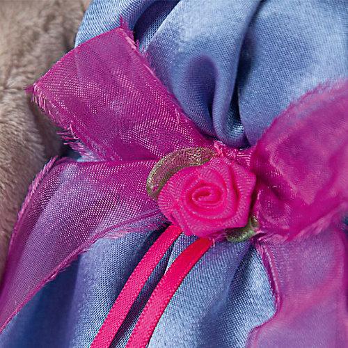 Мягкая игрушка  Budi Basa Зайка Ми в синем платье с розовым бантиком, 32 см от Budi Basa