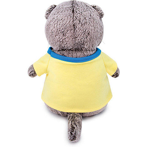 """Мягкая игрушка  Budi Basa Кот Басик в футболке с принтом """"Лягушонок"""", 25 см от Budi Basa"""