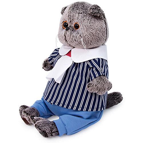 Мягкая игрушка  Budi Basa Кот Басик в морском костюме,  30 см от Budi Basa