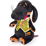 Мягкая игрушка  Budi Basa Собака Ваксон в жилетке, 29 см
