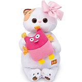 Мягкая игрушка  Budi Basa Кошечка Ли-Ли с совой, 24 см