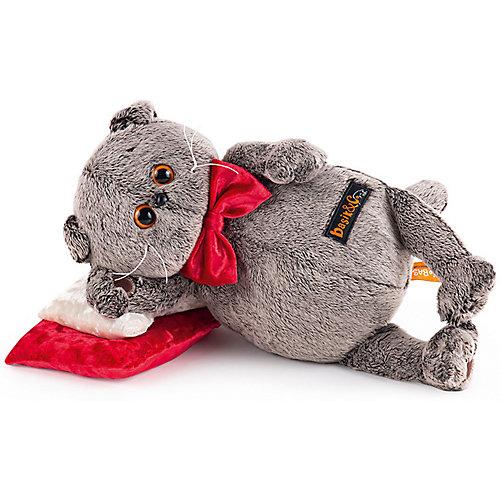 Мягкая игрушка  Budi Basa Кот Басик на  бархатной подушке, 18 см от Budi Basa