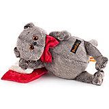 Мягкая игрушка  Budi Basa Кот Басик на  бархатной подушке, 18 см