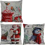 Декоративная подушка House of seasons Рождество красная