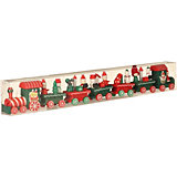 Фигурка декоративная House of seasons Поезд красный