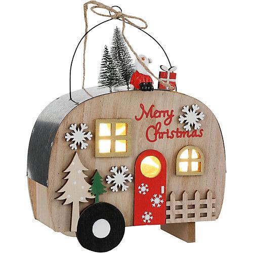Деревянная игрушк House of seasons Дом-фургон - бежевый/коричневый