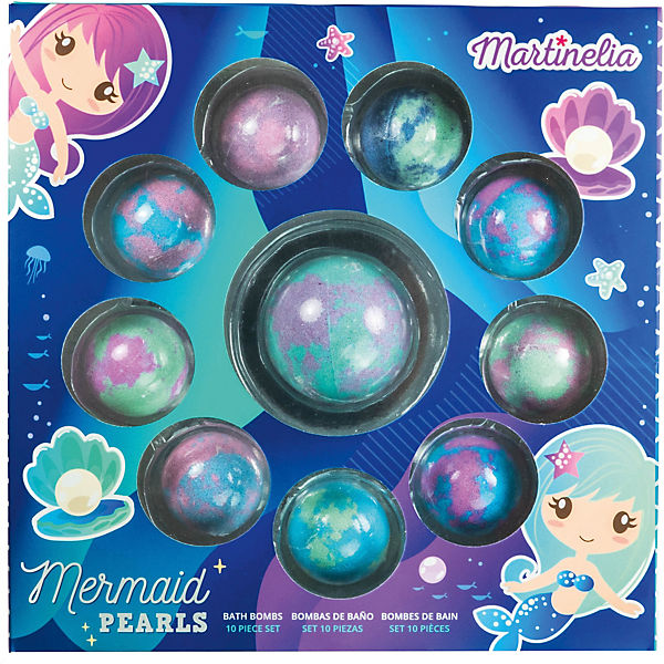 MARTINELIA MERMAID  FIZZER PEARLS 10 PCS