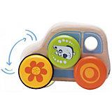 Деревянная игрушка Wonderworld Машинка на колесах