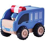 Деревянная игрушка Wonderworld Miniworld Полиция