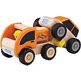 Деревянная игрушка Wonderworld Miniworld Эвакуатор