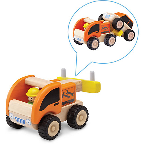 Деревянная игрушка Wonderworld Miniworld Эвакуатор от Wonderworld