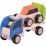 Деревянная игрушка Wonderworld Miniworld Мини-трейлер