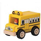 Деревянная игрушка Wonderworld Miniworld Школьный автобус
