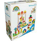 Цветные кубики Wonderworld