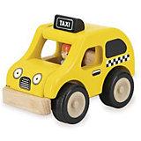 Деревянная игрушка Wonderworld Miniworld Такси