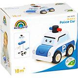Игрушка-конструктор Wonderworld Miniworld Полицейская машина