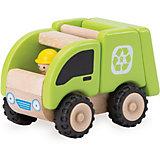 Деревянная игрушка Wonderworld Miniworld Мусоросборочная