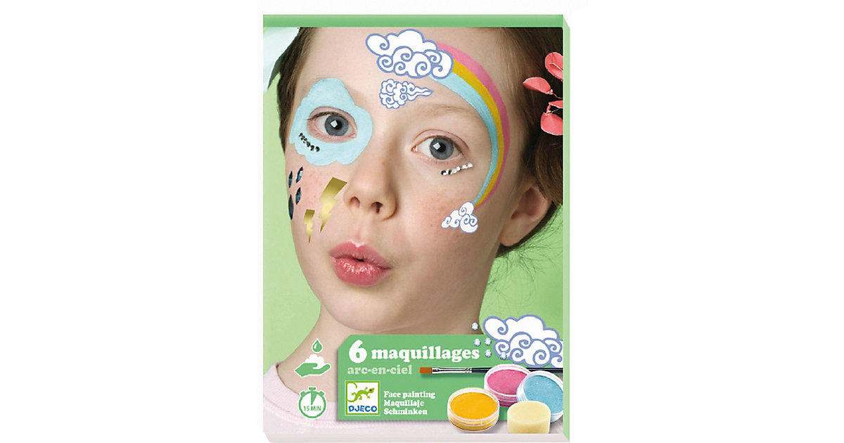 Kinderschminke-Set Regenbogen