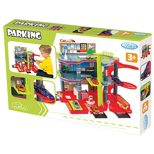 """Игровой набор Mochtoys """"Парковка + машинка"""" от Mochtoys"""