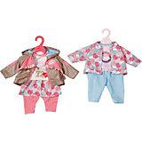 Одежда для куклы Zapf Creation Baby Annabell Комплект для прогулки