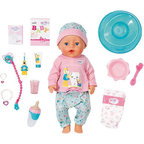 Интерактивная кукла Zapf Creation Baby Born Чистим зубки, 43 см от Zapf Creation