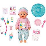 Интерактивная кукла Zapf Creation Baby Born Чистим зубки, 43 см